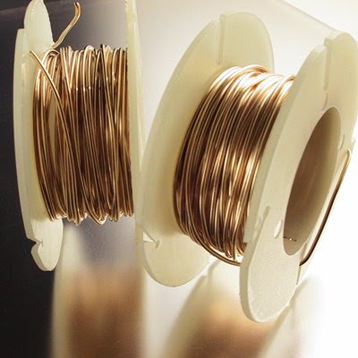 helgfw20ds Gold-filled Wire - 20 gauge Round Wire - Dead Soft (Inch)