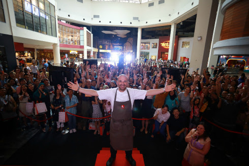 MasterChef Australia Judge George Calombaris in Malaysia