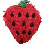 """5"""" Mini Strawberry Pinata - Sun Squad"""