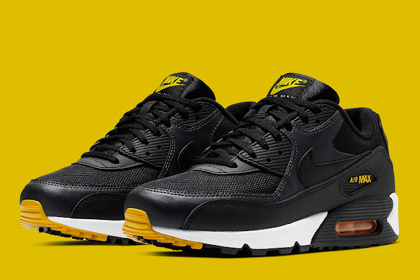 """e2a0c66b852a The Nike Air Max 90 Equips A Reverse-""""Taxi"""" Colorway"""