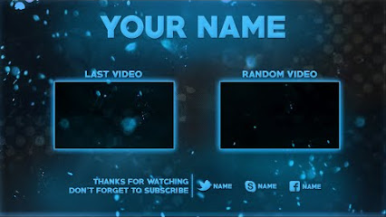 free outro template - groove graphics google