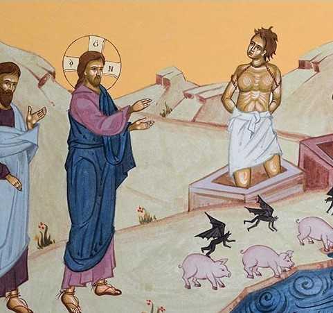 Αποτέλεσμα εικόνας για demonizat din gadara