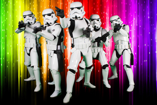 Are gay supremacists 'literally' Nazi stormtroopers? This guy thinks so.
