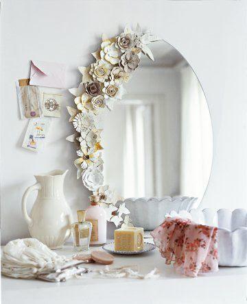 Paper Flower Frames & Ornaments   DIY Wednesday :: Hometalk