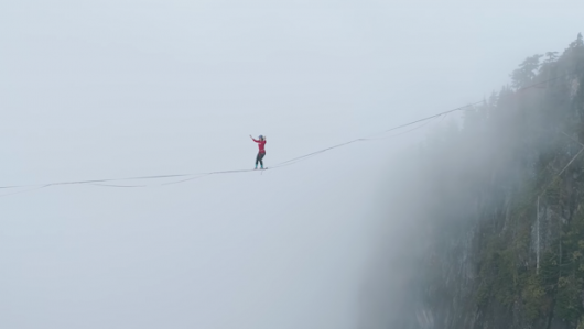 An Inside Look At the Latest Highlining World Record