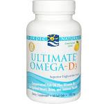 Nordic Naturals Ultimate Omega-D3, 1000 mg, Softgels - 60 count