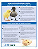A thumbnail image of the Handwashing After Touching Ducklings or Chicks poster