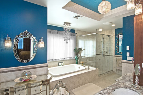 Color Series: Adding Blues & Silvers to Your Bathroom Design | All Things Bathroom