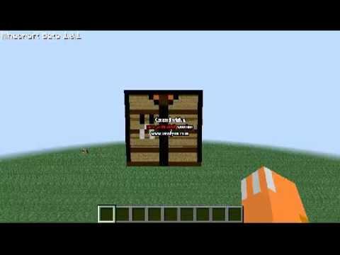 Minecraft Workbench Minecraft Project