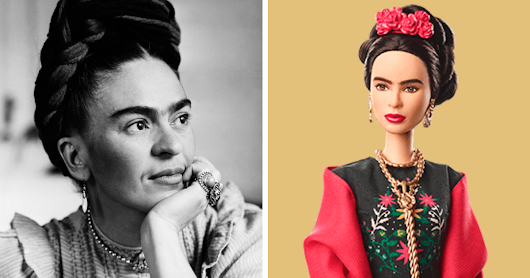 Barbie Unveils 17 New Dolls Based On Inspiring Women Like Frida Kahlo And Chloe Kim, And We Want Them All