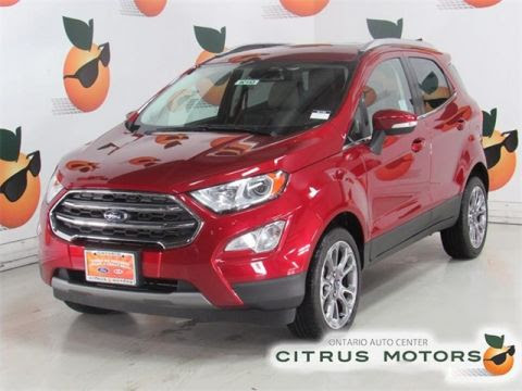 New Ford Ecosport In Ontario Citrus Motors Ford