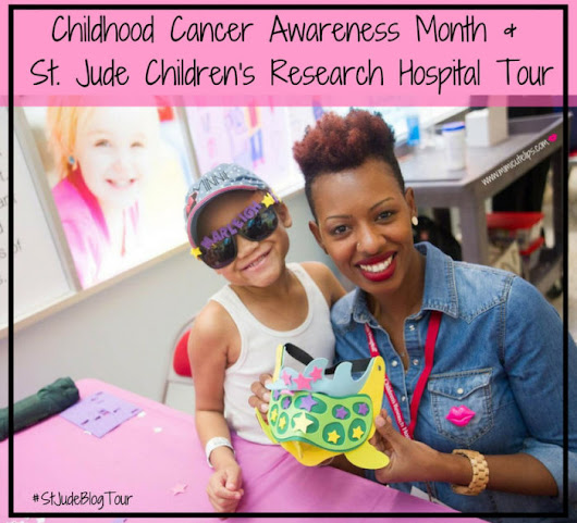 St. Jude Children's Research Hospital Tour #StJudeBlogTour - MimiCuteLips