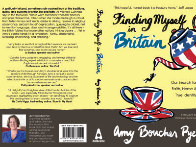 Amy Boucher Pye   » Behind the Scenes: Cover Design for Finding Myself in Britain (Part 1)
