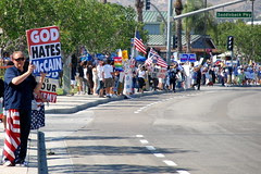 Outside Saddleback Church, Aug 16