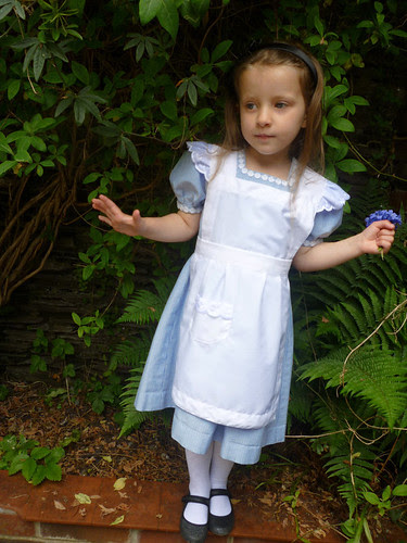 Cyan as Alice