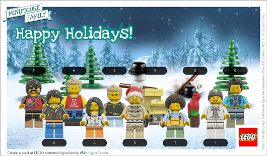 Happy Holidays from the MOC cast!