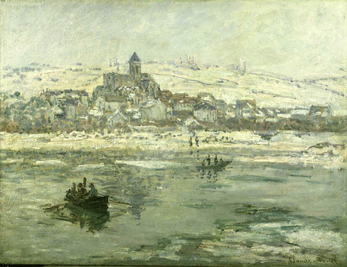 Vétheuil in Winter, Claude Monet, 1878-1879