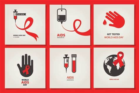 AIDS & HIV posters ~ Graphics ~ Creative Market