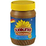 Sunbutter Sunflower Butter, Natural - 16 oz jar