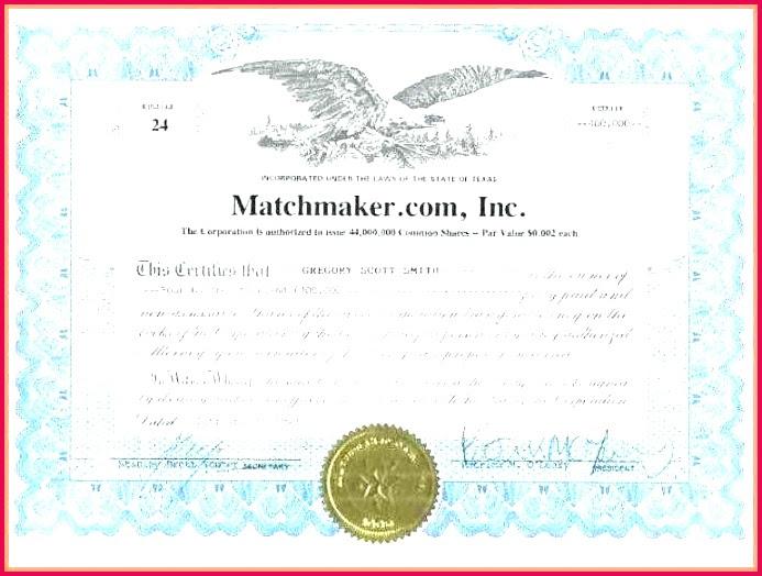 7 Share Certificate Sample Canada 09899 | FabTemplatez