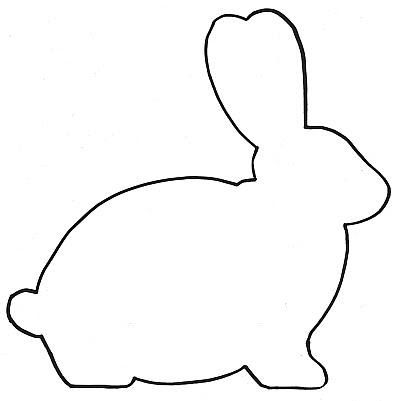 Bunny Head Stencil - ClipArt Best