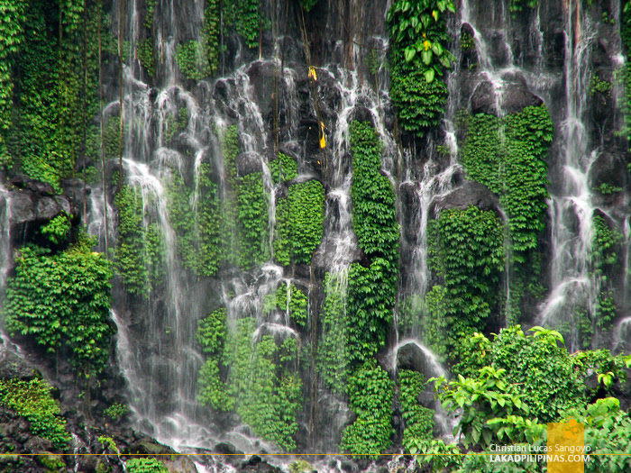 The Walls of Iligan's Maria Cristina Falls