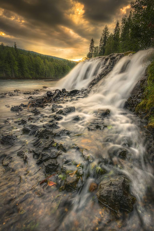 Saatchi Art: The Cascade - Limited Edition 1 of 50 Photography by Steve Austin