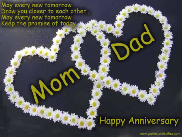 Mom Dad Happy Anniversary Pictures Photos And Images For Facebook