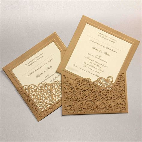 Laser Scrolls   Wedding Invitations Sri Lanka