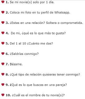 Whatsapp Imagenes De Preguntas De Amor Metadinhas Para Perfil