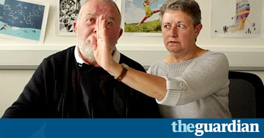 A stroke can make half your world disappear – video