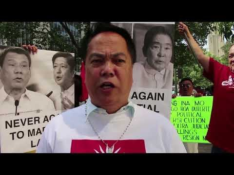 #NeverAgain: Filipino activists mark 46th anniversary of martial law #Resist #TheResistance