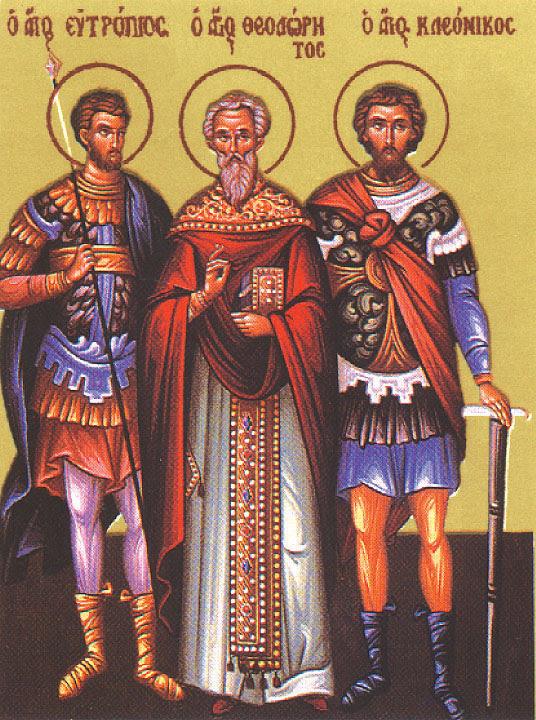 img ST. THEODORITUS, Hieromartyr, Presbyter of of Antioch