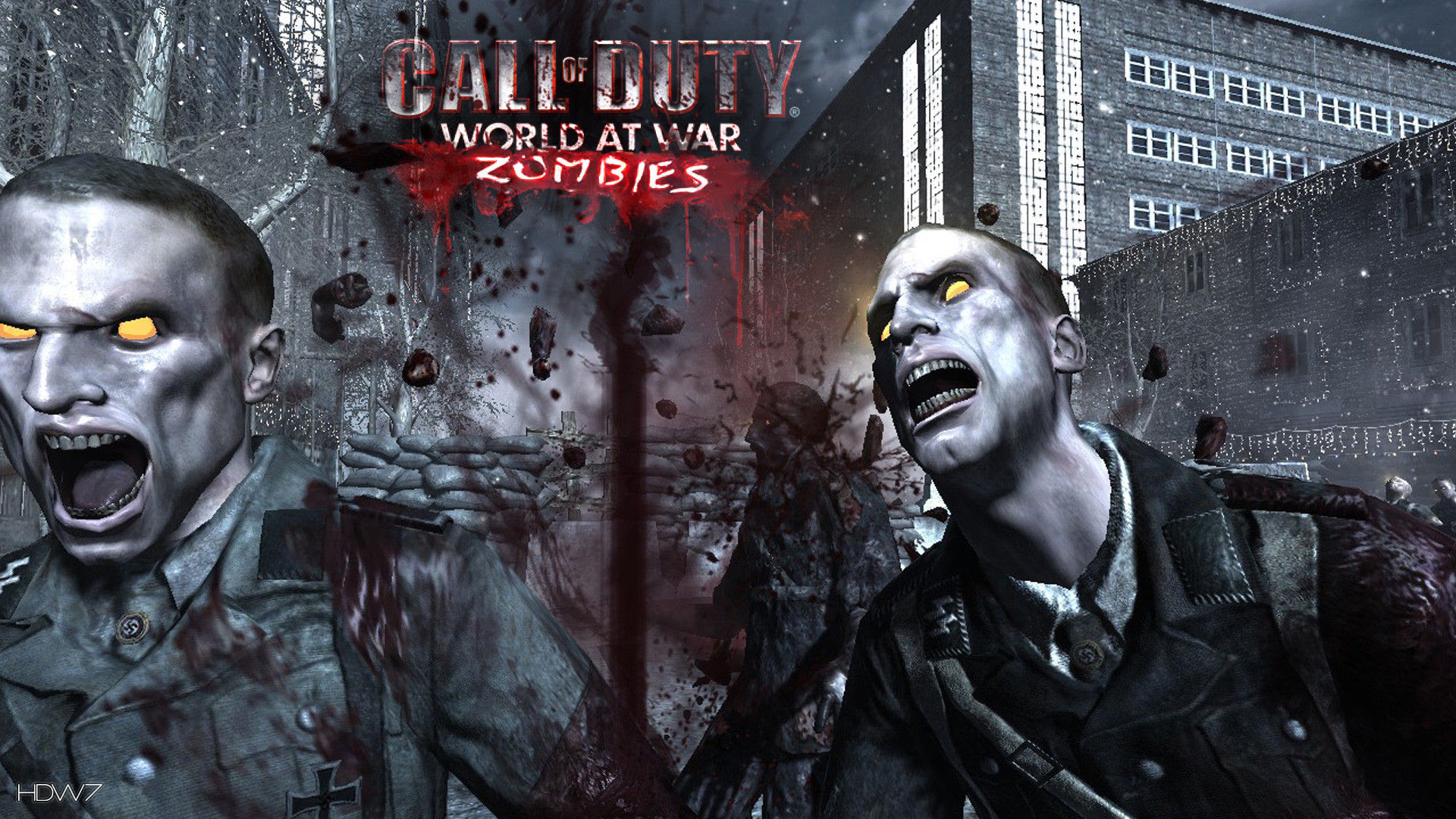Call Of Duty World At War Zombies Game Hd Wallpaper Gallery 231