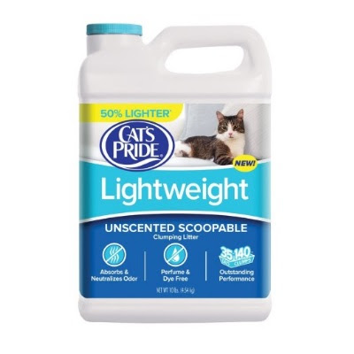 Cat's Pride Lightweight Scoopable Unscented Cat Litter Review