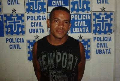 Homicida foi preso no Bairro São Raimundo (Foto: Ubatã Notícias)
