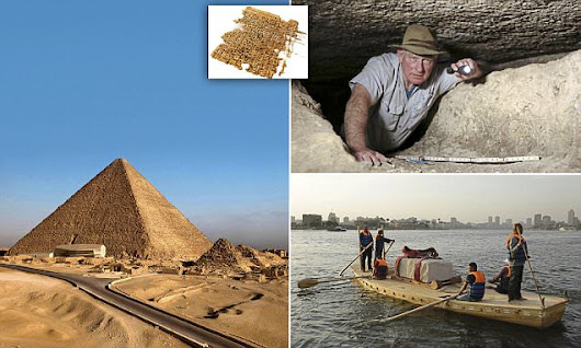 Archaeologist discover how the Great Pyramid of Giza was built
