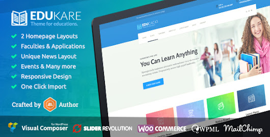 Edukare - Education WordPress Theme