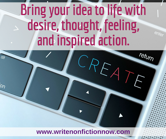 The 4 Stages of Creation for Nonfiction Authors - Write Nonfiction NOW!