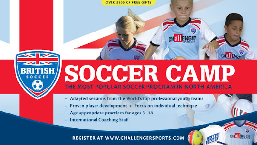 British Soccer Camp Coupon Code - Registration Now Open