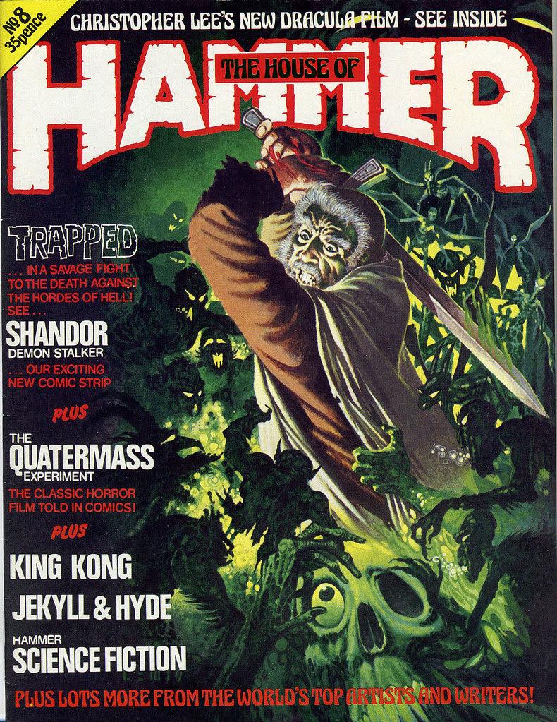 House Of Hammer Magazine - Issue 8 (1978)