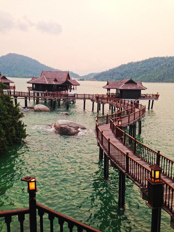 Pangkor Laut Resort sea villas