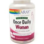 Solaray Once Daily Multiple for Women Veg Cap (Btl-Plastic) 90ct