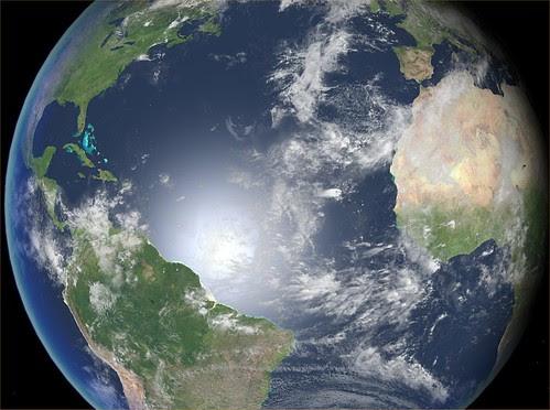 Earth Day 2007 - Atlantic Reflection