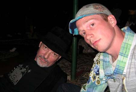 Michael and Marlon Pollock in Joujouka 2009.