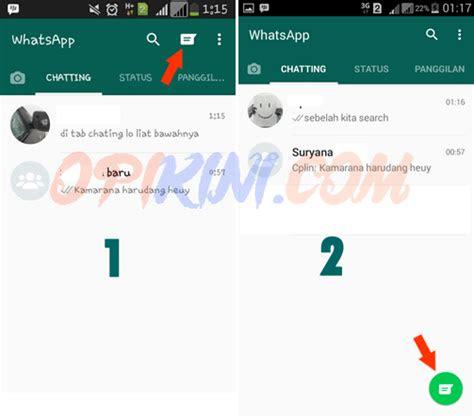 tampilan whatsapp  membuat bingung opikinicom