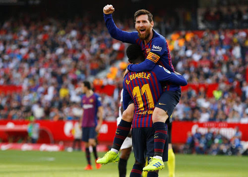 """barcelona """"an ba"""", lionel messi... an ca! hinh anh 1"""