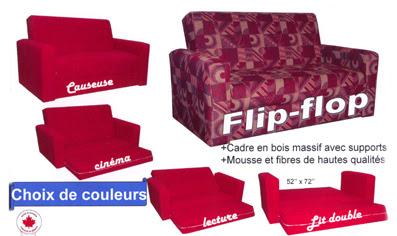 Table et chaises de terrasse divan flip flop for Divan international
