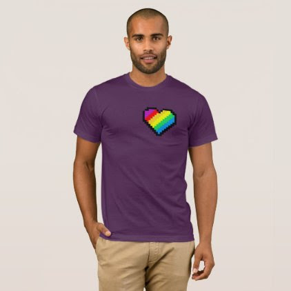 RAINBOW HEART BEAT T-Shirt