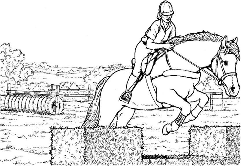 Malvorlagen Kostenlos Pferde 6 | Malvorlagen Kostenlos